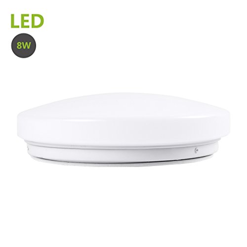 Dimmable Led Ceiling Light Fixture: Greenclick 8W Led Ceiling Lights 50W Equivalent Daylight