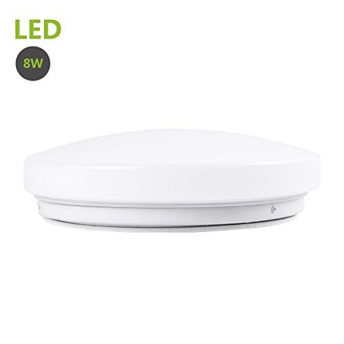 greenclick 8w led ceiling lights 50w equivalent daylight white 5000k round flush mount ceiling. Black Bedroom Furniture Sets. Home Design Ideas