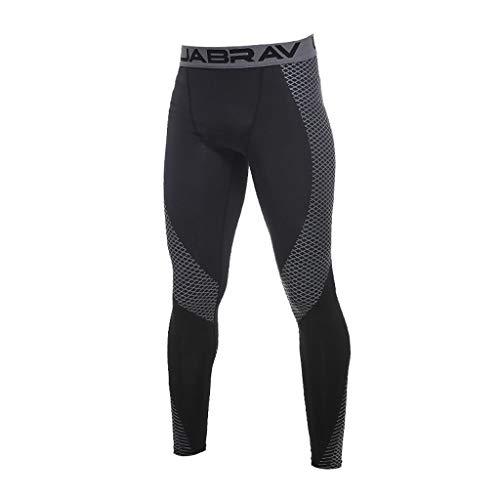 Sport Leggings Jogging Homme Survêtement Slim Noir Pantalon Course Rapide Pants Kppong Running Pantalons Collants Training De Vêtements Compression Séchage wt0PE8q