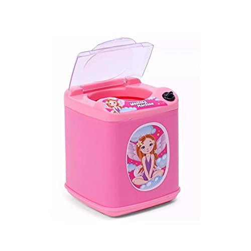 Generic Plastic Pink Household Washing Machine Toy for Kids- Age Group - 2 Years and Above - (Pack of 1) 31cT94V U5S India 2021