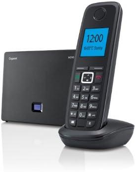 Siemens A510 IP - Teléfono fijo inalámbrico, negro (importado): Amazon.es: Electrónica