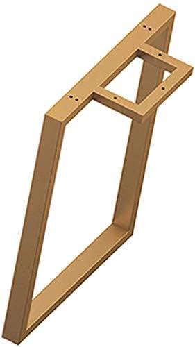 ETJar Patas de muebles Patas de caja de estilo industrial: diseño resistente, oro, patas de mesa