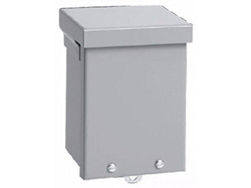 Nema 3r Junction Box - Hoffman A10R106 NEMA 3R Enclosure, Screw Cover, Galvanized, Paint Finish, 10