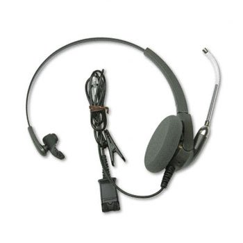 Plantronics H91 - Encore Monaural Over-the-Head Telephone Headset w/Clear Voice ()