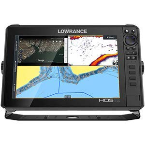 Lowrance 000-14428-001 HDS LIVE 12 Sonar Fish Finder with Active Imaging 3-in-1 Transducer