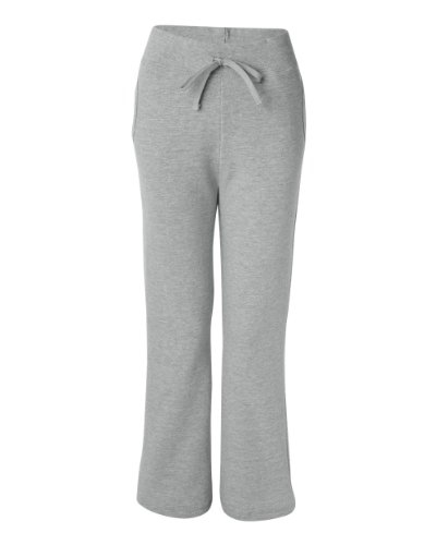 A&E Designs Ladies Heavy Blend Yoga Style Sweatpants, Medium