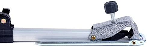 TOOGOO 137 CM Porte-Canne a Peche Support de Tige Support Angle reglable Peche Outil de Peche telescopique reglable Porte-Canne a Main