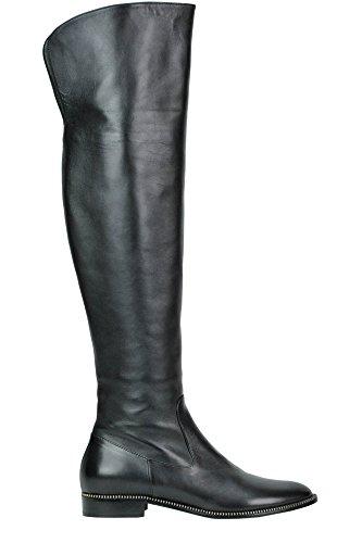 Femme Bottes Noir Cuir MCGLCAS02007I Sebastian POxCwdqFP