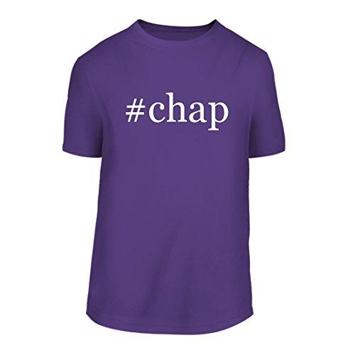 #chap - A Hashtag Nice Men's Short Sleeve T-Shirt Shirt, Purple, Large
