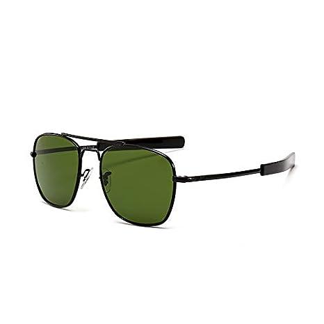 NO BRAND Gafas de Sol Hombre Gafas de Sol metálicas de Moda ...