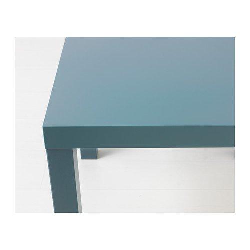 Ikea LACK - Mesita auxiliar (55 x 55 cm), color gris y ...