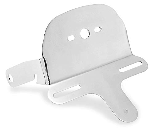 (93-05 HARLEY FXDWG: Biker's Choice License And Tail Light Bracket)