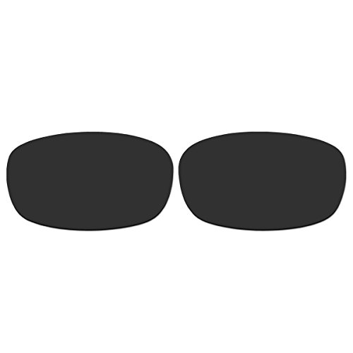 Replacement Black Polarized Lenses for Oakley Square Wire 2.0 - 1 Sunglasses 670