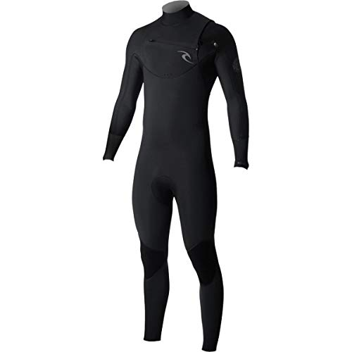 Rip Curl Dawn Patrol Chest Zip 4/3 Wetsuit, Black, Small/Tall by Rip Curl (Image #2)