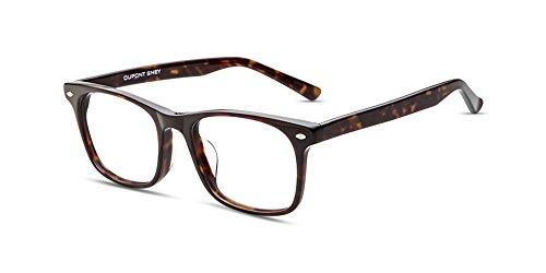 Firmoo Anti Blu-ray Computer Glasses, Classic Square Durable Plastic Full Frame Glasses Oversize Glasses for Women/Men ()