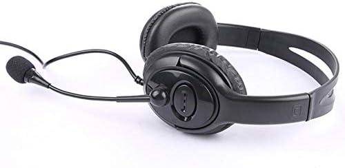 ヘッドフォン、モバイルコンピュータ、ユニバーサルチキンゲームヘッドセット、有線ステレオヘッドセット 黒