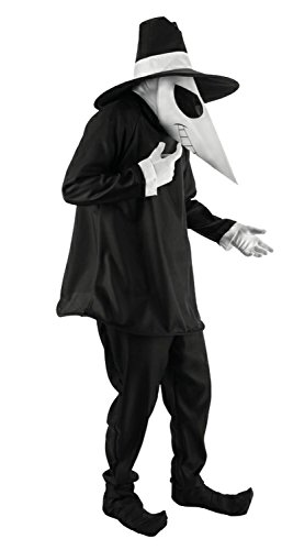 (Adult Black Spy vs Spy Costume Large /)
