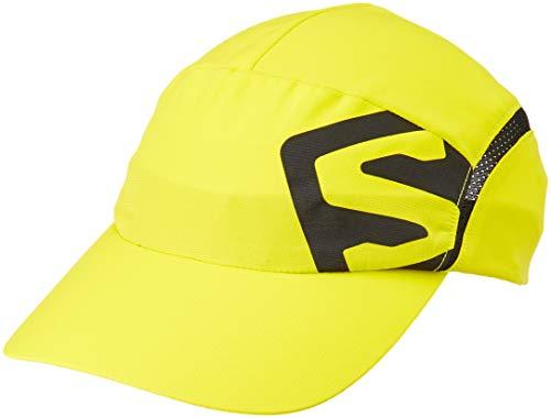 - Salomon Unisex Xa Cap, Sulphur Spring/Black, S/M