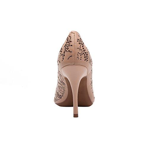Linea Paolo Piper | Vrouwen Patent Laser Gesneden Puntige Teen Stiletto Pomp (nieuwe Lente) Blozen Octrooi