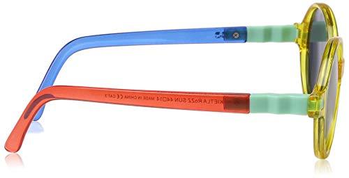 T5 Unisex Amarillo 4 Ki de ET LA Azul Redondo Sol Amarillo Gafas bebé Rojo Rojo Azul w0tFqa0
