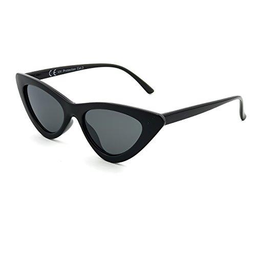 Ojo mod vintage sol de Gafas Negro de PRINCESA KISS® EXCELENTE MODA fría MUJER de nikita Gato 0qRwI