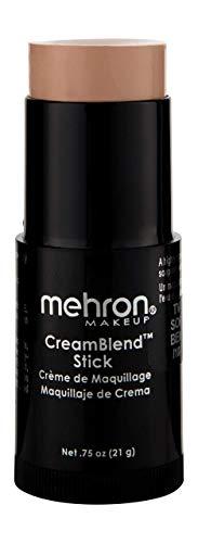 Peaches And Cream Halloween Makeup (Mehron Makeup CreamBlend Stick (0.75 Ounce) (SOFT)