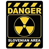 Danger Slovenia Area - Countries - Parking Sign [ Decorative Novelty Sign Wall Plaque ] ()