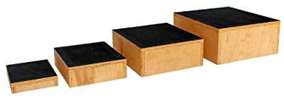 Therapy Steps, Set of 4 with Textured Safety Walk Tread