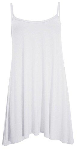 Femmes White 50 Cami Nouveau swing Plus Chocolate 36 Hanky Size Robe dbardeur Pickle FxEqn6p7