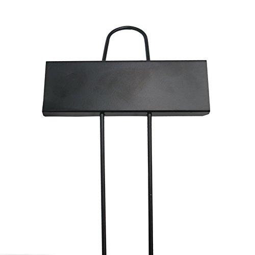 KINGLAKE 10 Pcs Metal Plant Labels Garden Markers Tags (Black) … by KINGLAKE