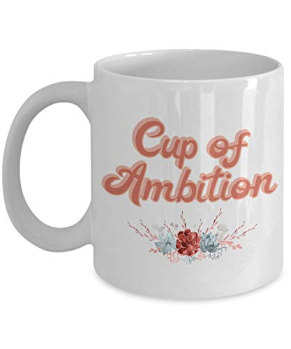 Cup of Ambition Mug, Working Girl, 9-5 Dolly Retro Song, Southern Retro 80s 70s Vintage