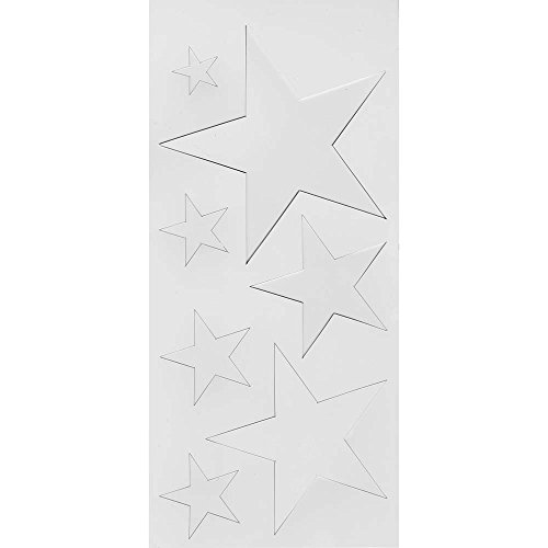 Top Flite Star Templates, Misc Sizes 1-5 - Large Star Stencil
