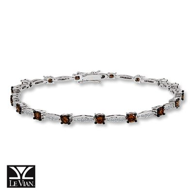 Amazoncom Jared LeVian Chocolate Diamonds2 38 ct tw Bracelet