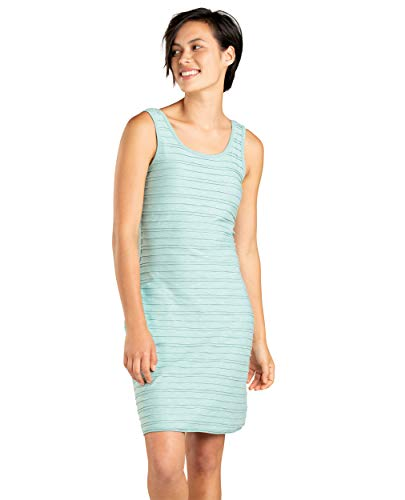 Toad&Co Women's Samba Flow Tank Dress, Aquifer, M (Horny Dress Toad)