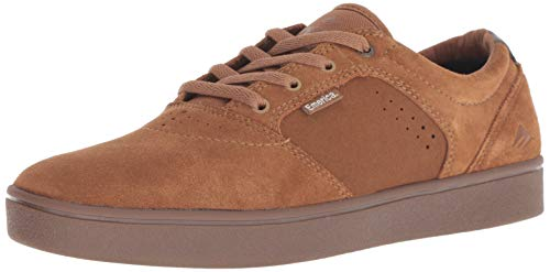 Emerica Men's FIGGY DOSE Skate Shoe tan/Gum 9.5 Medium US ()