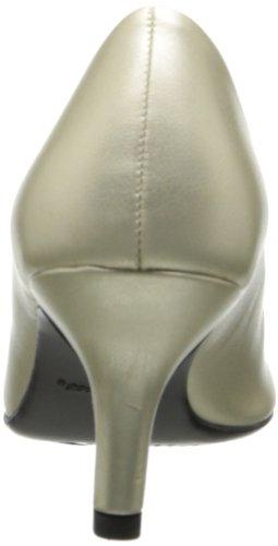 Easy Street Passion Femmes Doré Large Chaussures Pompes Pointure EU 36,5