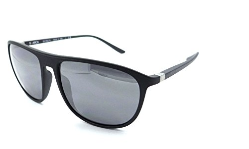 Starck Eyes Mikli Sunglasses SH5010 0001/Z3 57x16 Matte Black - Silver - Starck Sunglasses