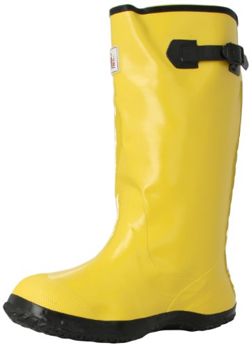 Mutual 14500 Extra Wide Over-The-Shoe Work Slush Boot, 17 Height, Size 14, Yellow