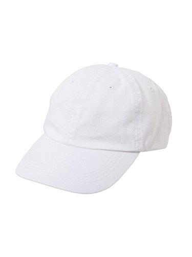 Chino Twill Hat (Alternative Men's Basic Chino Twill Cap, White, One Size)