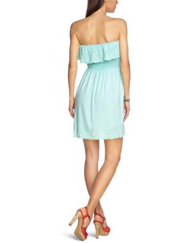 Pepe Jeans Damen Kleid Baumwolle Dress Unifarben, Größe: L, Farbe: Grün
