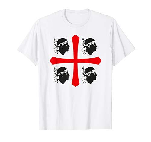 Sardegna Italia - Sardinia Italy Flag of Four Moors Shirt