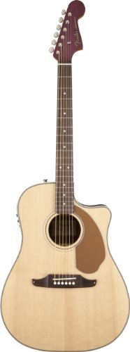 Fender Sonoran SCE Wildwood IV, Purple Heart Back and Sides, Natural