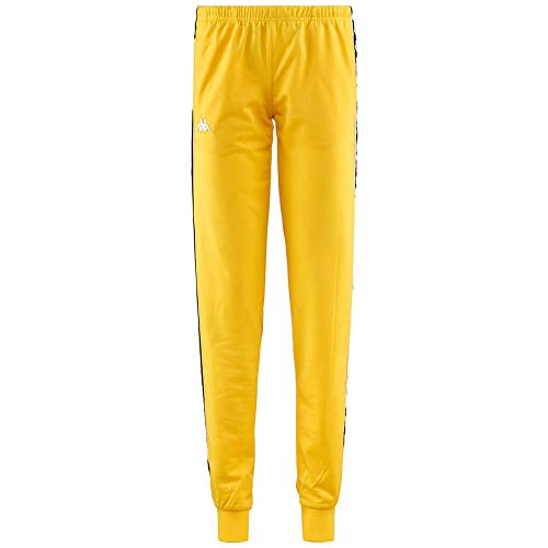 A32 Wrastoria Slim Pantalone 303r5k0 Mustard Donna black 222 Banda Kappa A79 Yellow Giallo qfBtxAznw