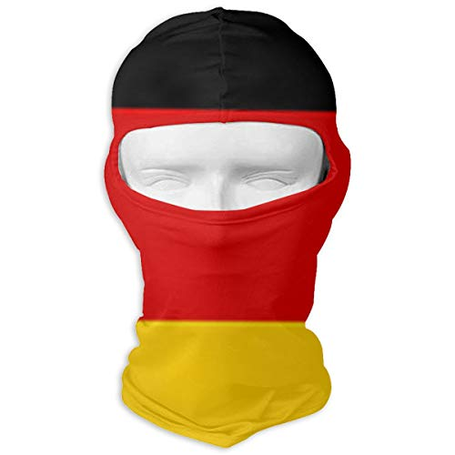 Ruin German Flag Balaclava Face Mask for Windproof