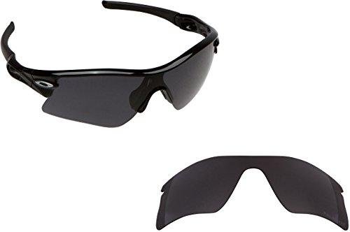 New SEEK OPTICS Replacement Lenses Oakley RADAR RANGE - Polarized Black