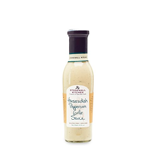 Horse Grill - Stonewall Kitchen Horseradish Peppercorn Grille Sauce, 11oz