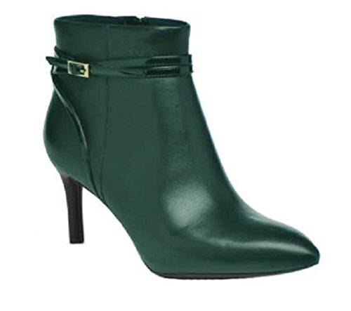 11sunshop Suede and Leather Boots Model Berenice HGilliane Design EU 33 to 44 Vert Bouteille QXYbEvGIac