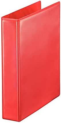 مصنف حلقة عرض أحمر a4-3D ، 2 بوصة Spine - عبوة من 15 قطعة