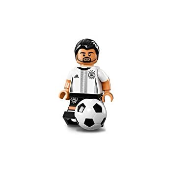 Series 4 lego mini figure SOCCER FOOTBALL PLAYER with trophy