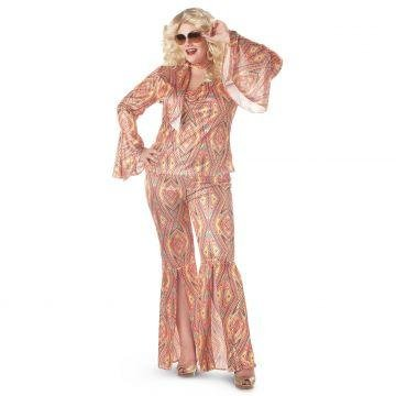 Discolicious Adult Costume - Plus Size 1X ()